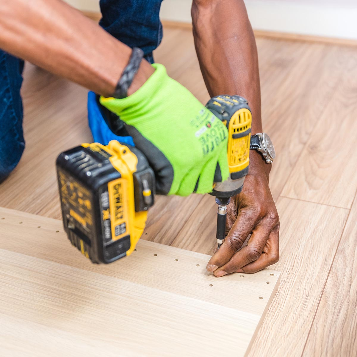 For top-notch hardwood floors, we're the clear choice